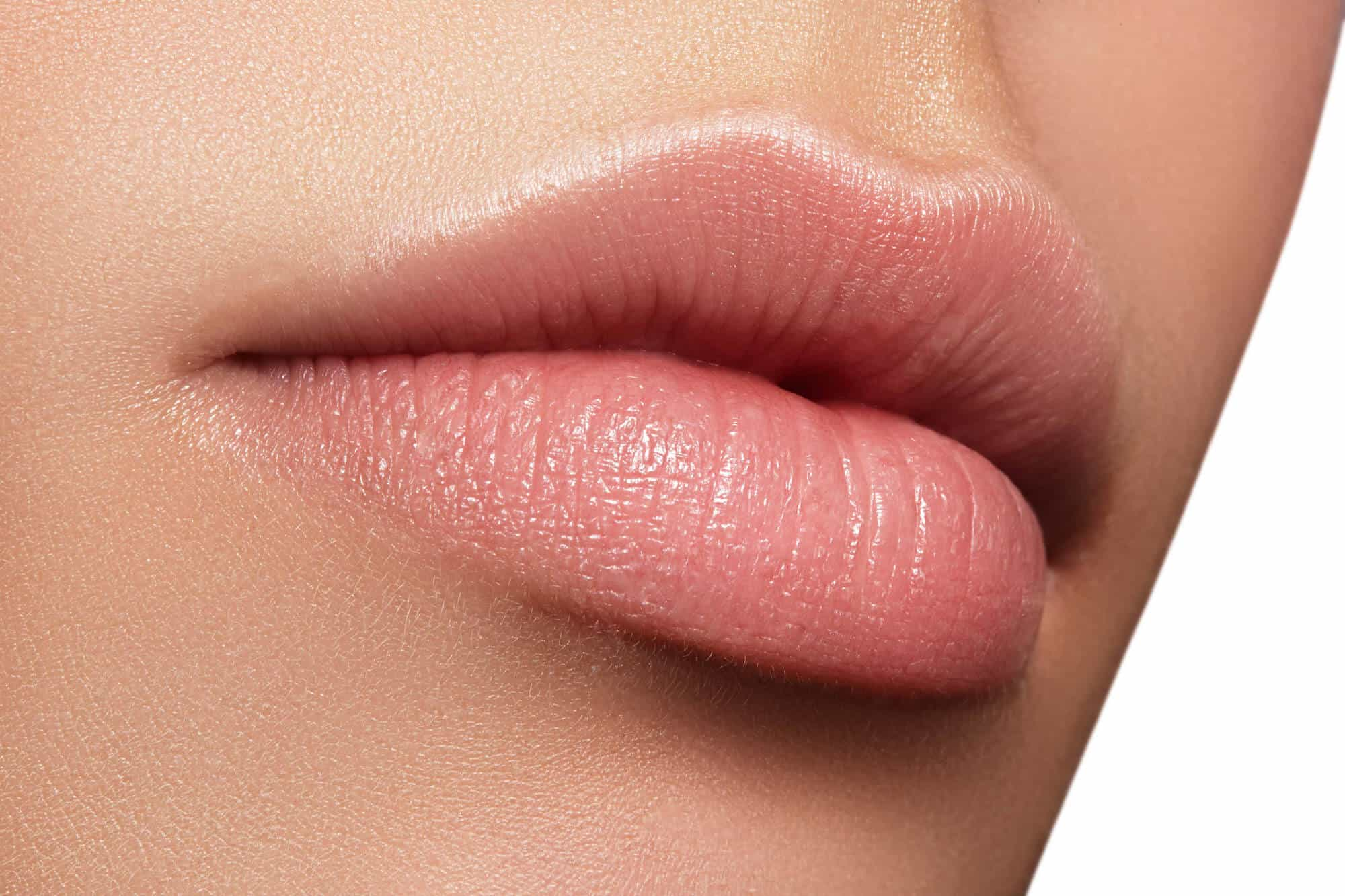What-to-Expect-After-Lip-Injections - Close up of new lips
